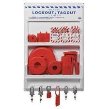 "Honeywell 24"" x 35"" Lockout/Tagout Station"