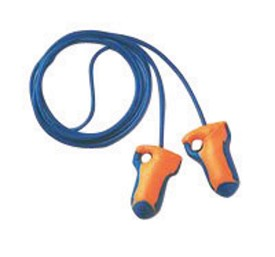 Howard Leight by Honeywell Laser Trak Corded Detectable Earplugs Polybag