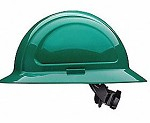 North by Honeywell Green North Zone Ratchet Full Brim Style Hard Hat - 12 pk.