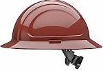 North by Honeywell Brown North Zone Ratchet Full Brim Style Hard Hat - 12 pk.