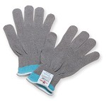 Honeywell Perfect Fit Dyneema Seamless Knit Stainless Steel Gloves 13 gauge Gray - Size S