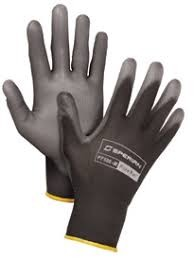 Honeywell Pure Fit Polyurethane Lightweight Gray Palm Coating Gloves - Size 8M