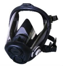 North by Honeywell Full Facepiece Respirator with 5-Point Headstrap - Size Small