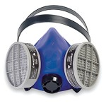 North by Honeywell Industrial Half Mask with Speech Diaphragm - Size Medium