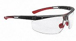North by Honeywell Adaptec Customized Fit Hydroshield Anti-Fog Black/Clear Safety Glasses - 10 pk.
