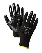 Honeywell Workeasy Black Polyester Value Lightweight Dipped Gloves - Size 7S