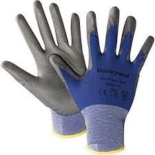 Honeywell Workeasy Blue Nylon Value Lightweight Dipped Gloves - Size 7S