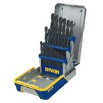 Irwin 29 pc. Black Oxide Metal Index Drill Bit Set