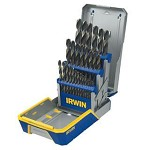 Irwin 29 pc. Black & Gold Metal Index Drill Bit Set