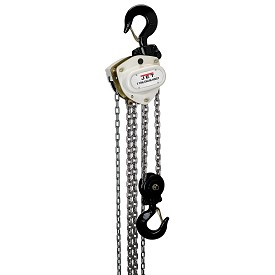 Jet 3 Ton Hand Chain Hoist with 15 ft Lift L-100 Series