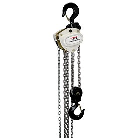 Jet 5 Ton Hand Chain Hoist with 15 ft Lift L-100 Series