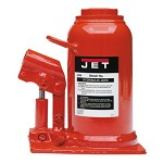 Jet 17-1/2 Ton Low Profile Industrial Hydraulic Bottle Jack