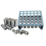 Jet 35 pc. Premium 5-C Collet Set 1/16