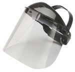 Jackson Safety 14382 Model K Headgear with Clear Shield-12 pk