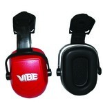 Jackson Safety Red NRR 25 Capmount Earmuffs-1 pk