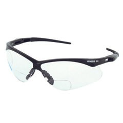 KleenGuard V60 Nemesis Black RX +1.5 Safety Glasses-Clear Lens