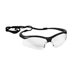 KleenGuard V30 Nemesis S Black Safety Glasses-Clear Lens