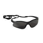 KleenGuard V30 Nemesis S Black Safety Glasses-Smoke Lens