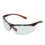 KleenGuard V40 Maxfire Brown Safety Glasses-Indoor/Outdoor Anti-Fog Lens