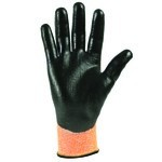 KleenGuard G60 Level 3 Knuckle-Coated High-Visibility Cut Resistant Gloves-M