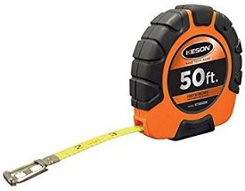 Keson ST18M100Y 100 ft. Tape Measure with 3X High-Speed Rewind - 6 pk.