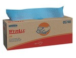 Kimberly-Clark WypAll L40 Pop-Up Box Wipers-Blue