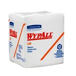 Kimberly-Clark WypAll L30 1/4 Fold Wipers-White