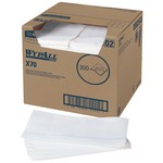 Kimberly-Clark WypAll X70 1/4 Fold Towels-White-12.5
