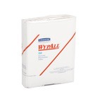Kimberly-Clark WypAll X50 1/4 Fold Wipers-White