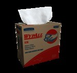 Kimberly-Clark WypAll X70 Pop-Up Box Wipers-White-9.1