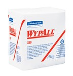 Kimberly-Clark WypAll X80 1/4 Fold Wipers-White