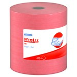 Kimberly-Clark WypAll X80 Jumbo Roll Wipers-Red