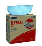 Kimberly-Clark WypAll X70 Pop-Up Box Wipers-Blue