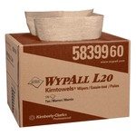 Kimberly-Clark WypAll L20 Brag Box 2-ply Wipers-12.5