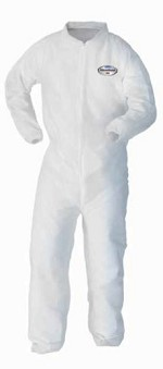 Kimberly-Clark A10 Light Duty Shell Coverall-L
