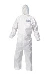 Kimberly-Clark A10 Light Duty Hooded Coverall-XL