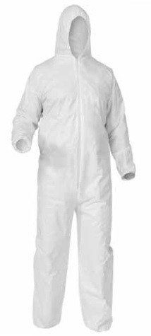 Kimberly-Clark A35 Liquid & Particle Protection Hooded Coverall-S