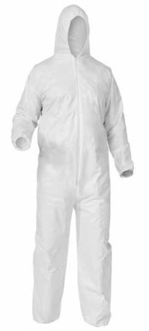 Kimberly-Clark A35 Liquid & Particle Protection Hooded Coverall-M