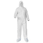 Kimberly-Clark A35 Liquid & Particle Protection Hooded & Booted Coverall-S