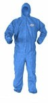 Kimberly-Clark A60 Bloodbourne Pathogen & Chemical Protection Hooded Coverall-L