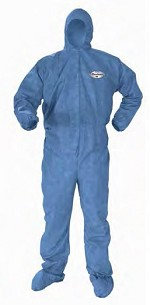 Kimberly-Clark A60 Bloodbourne Pathogen & Chemical Protection Hooded & Booted Coverall-XL