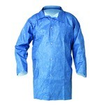 Kimberly-Clark A60 Bloodbourne Pathogen & Chemical Protection Lab Coat-L