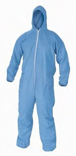 Kimberly-Clark A65 Flame Resistant Hooded Coverall-L