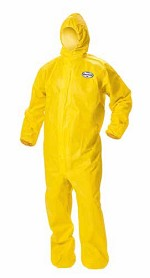 Kimberly-Clark A70 Chemical Spray Protection Hooded & Booted Coverall-M
