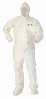 Kimberly-Clark A80 Chemical Permeation & Jet Liquid Protection Hooded & Booted Coverall-4XL