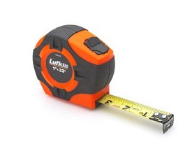 "Lufkin 33 ft. x 1"" Hi-Viz Tape Measure"