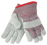 Memphis C Grade Shoulder Leather Glove-Rubberized Safety Cuff 2-1/2