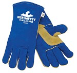 Memphis Blue & Tan TIG Welding Gloves-Wing Thumb-Medium