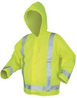 River City Luminator Class 3 Hi-Vis Lime Jacket-Small
