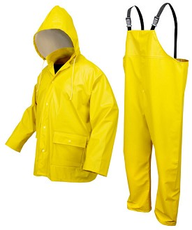 River City Navigator Yellow 3pc Suit-Large